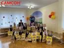 Юнландик привез подарки на «Посвящение в первоклассники» в Беларуси