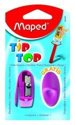 Maped TIP TOP Набор: точилка 1 отверстие и ластик-насадка на карандаш