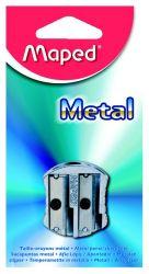 Maped METAL Точилка 2 отверстия, металлическая, классический дизайн