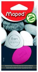 Maped EPURE MINI Ластик треугольный малый, треугольный + овальный, цветной, с...