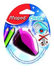 Maped CLEAN Точилка 2 отверстия, с контейнером, с автоматической защитной ″шторкой″