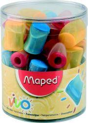 Maped VIVO Точилка 1 отверстие, с контейнером
