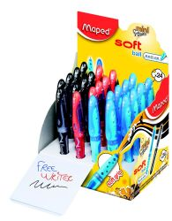 Maped FREEWRITER Ручка шариковая, мини, технология Soft Ball, средняя толщина линии -...