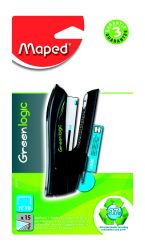 Maped GREENLOGIC Степлер карманный пластиковый экологичный, на 15 листов, скобы №10, с...