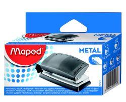 Maped START + Дырокол металлический на 10/12 листов, на 2 отверстия, с линейкой