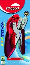 Maped ZENOA Степлер ручной пластиковый полупрозрачный, обрезиненная поверхность, на 25...