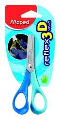 Maped VIVO Ножницы 12 см, эргономичные, концепция Reflex3D - специально для детской руки, симметричные