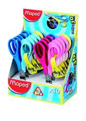 Maped VIVO Ножницы 12 см, эргономичные, концепция Reflex3D - специально для детской...