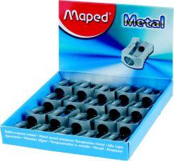 Maped METAL Точилка 1 отверстие, металлическая, классический дизайн