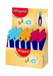 Maped VIVO Циркуль пластиковый с грифелем, с безопасной иглой
