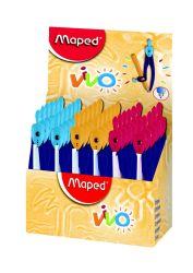 Maped VIVO Циркуль пластиковый с универсальным держателем, карандаш в комплекте, с...