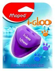 Maped I-GLOO Точилка 2 отверстия, с полупрозрачным контейнером